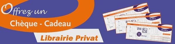 Chèque cadeau Privat
